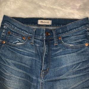 "Made well 9"" rise skinny skinny  jeans"